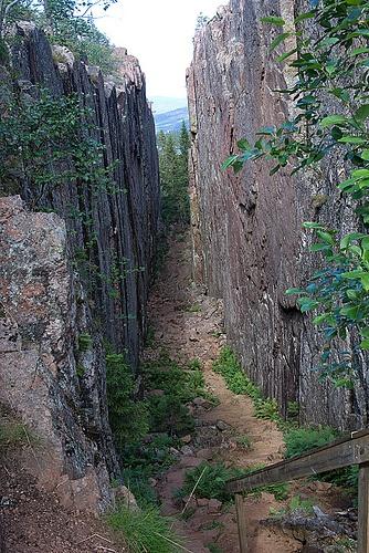 Slåttdalsskrevan Skuleskogen - Höga Kusten