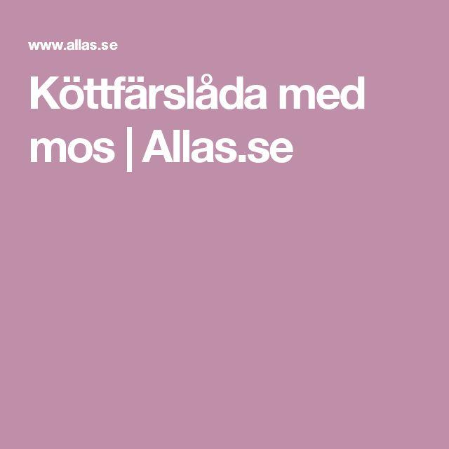 Köttfärslåda med mos   Allas.se