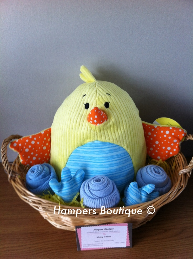 Best 25 easter hampers ideas on pinterest birthday hampers easter hamper basket gift for young childrenbabies negle Images