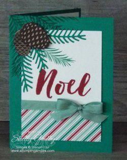 Stampin' Up! Christmas Pine Card Sneak Peek