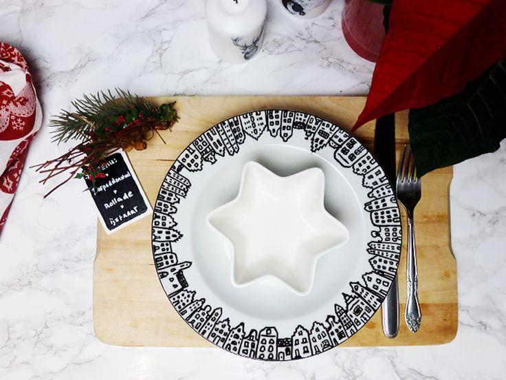 DIY | Kerst Servies