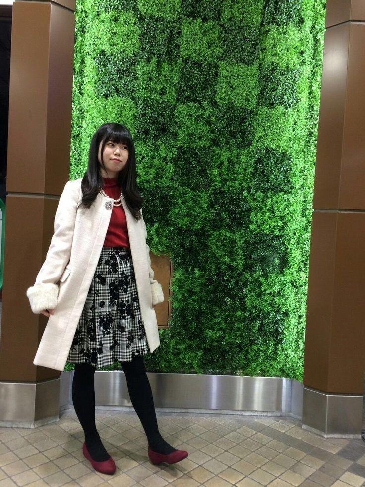 おすすめスカートを使ったクリスマスコーデ☆