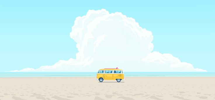 Mesmerizing Simple GIFs by Typical Hope