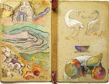 Paul Gauguin - I love a beautiful journal