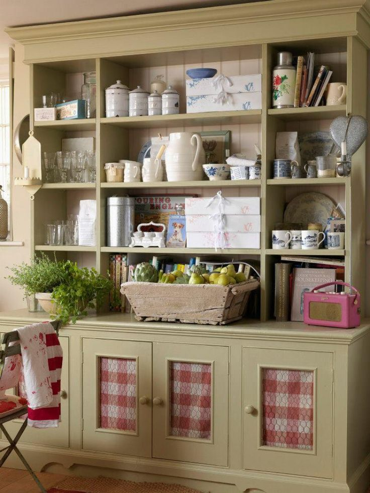 25 best ideas about red country kitchens on pinterest for Meuble cuisine campagne