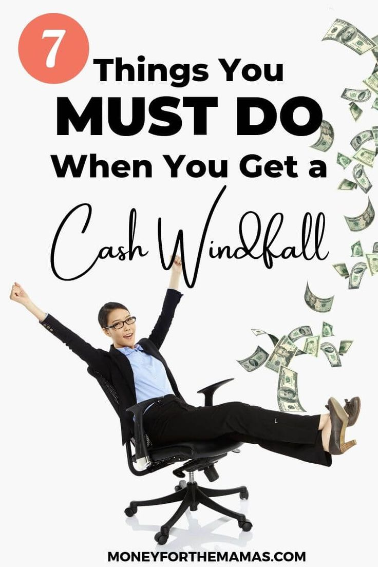 Cash Windfall? Here's What You've GOT TO do! – Personal Finance Tips, Hacks & Rules to Live By