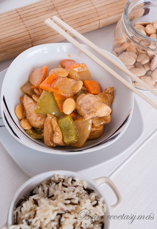 102 best cuines del mon images on pinterest chicken chinese food pollo con almendras chino chinese recipesprobarmain forumfinder
