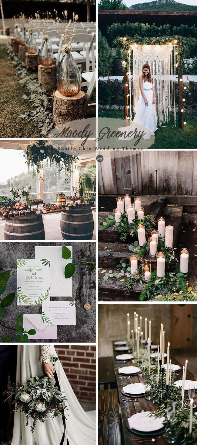 6 inspiring & trending modernized rustic chic wedding theme