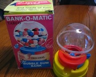 BANK O MATIC BUBBLE GUM BANK...Oh my goodness, I would have never remembered I had one of these if I hadn't seen it here! Wow. Loved that thing!