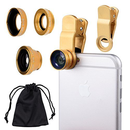 Camkix 3-in-1 Lens Kit for Smart Phones. 21st birthday gifts for girlfriend ideas