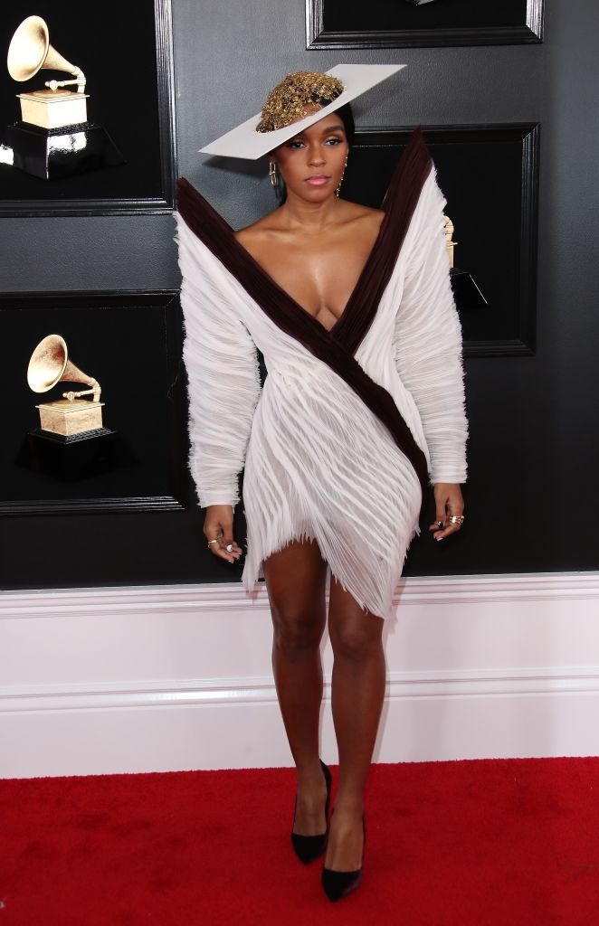 b5130c82957 LOS ANGELES, CA - FEBRUARY 10: Janelle Monae attends the 61st Annual GRAMMY  Awards at Staples Center on February 10, 2019 in Los Angeles, California.