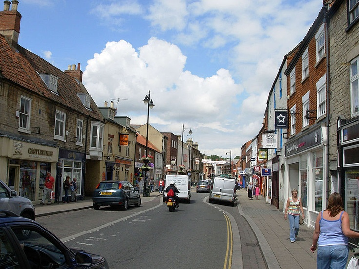 Sleaford High Street- I have friends who live in this village in Lincolnshire