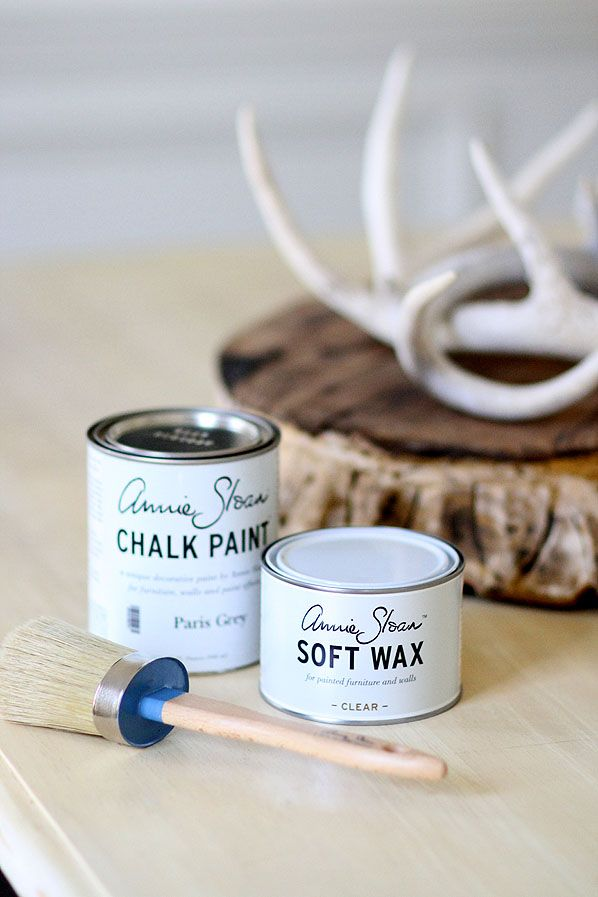 loved using annie sloan's chalk paint!  paigeknudsen.com