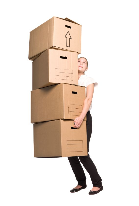 LIGHTEN UP. Don't break your back or your items. Ensure you don't overload your boxes. Be especially wary of books. A good rule is to only pack one layer of books stacked vertically.