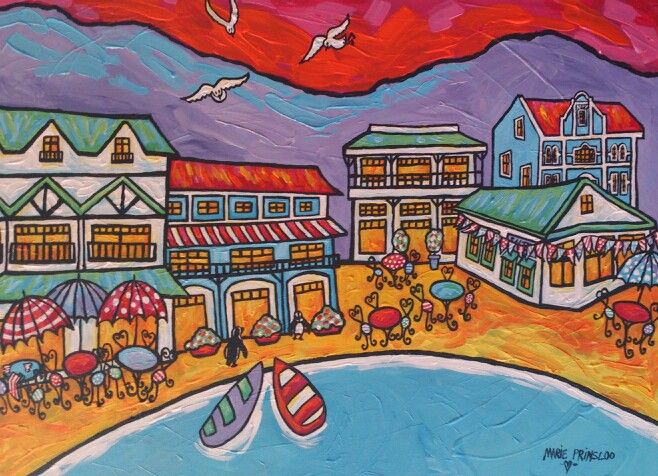 """Simon's Town Afternoon"" by Marie Prinsloo"
