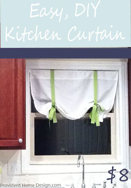 easy 8 diy curtain - Kitchen Curtain Ideas Diy
