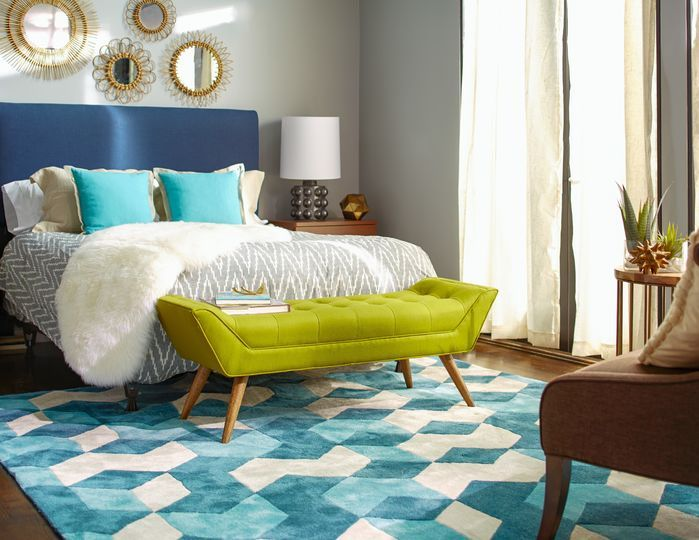 Wonderful Lots Of Textures And Bold Colors Come Together To Create The Most Cozy  Modern Bedroom Space
