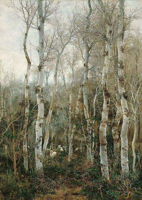 Emilio Sánchez-Perrier,Winter in Andalusia,1880  art-centric