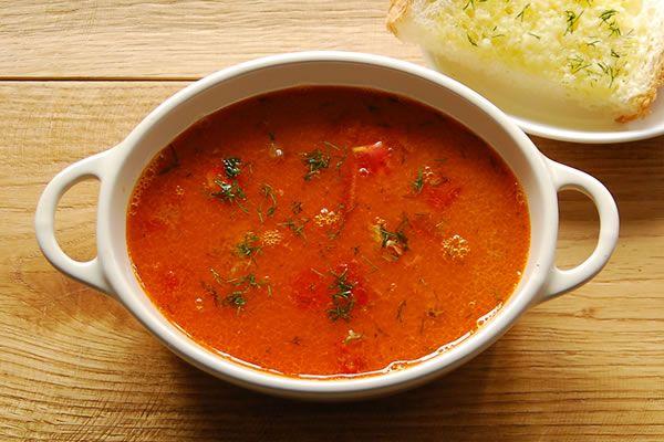 スープ・ド・ポワソン(南仏風魚介のスープ)