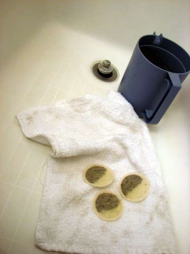 sunburn remedy--combine black tea bags and warm water in a picture. let the water cool, then use a rag to put the tea on your skin. don't wash it off, and apply as many times as you want (more is better). wash it off in the morning. you can also apply the wet tea bags directly to your skin.