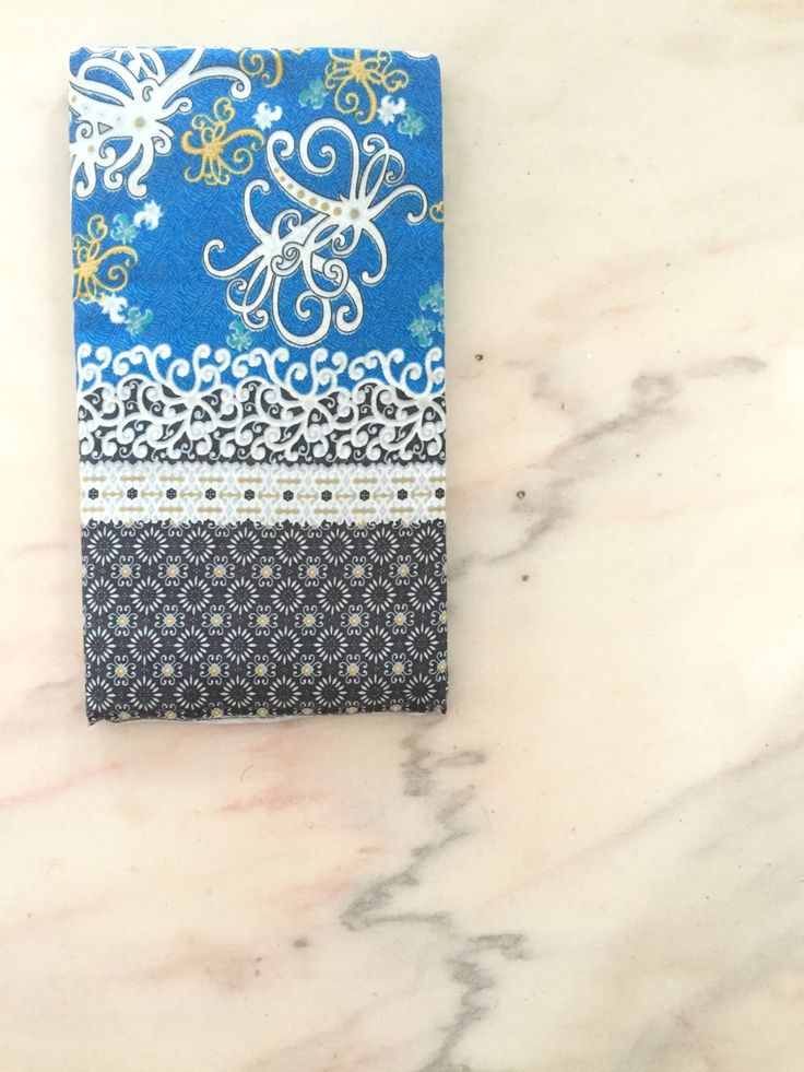 Sarawak Batik Cloth, Borneo Batik Cloth, Dayak Motif, Sarong, Royal Blue by BorneoBandits on Etsy
