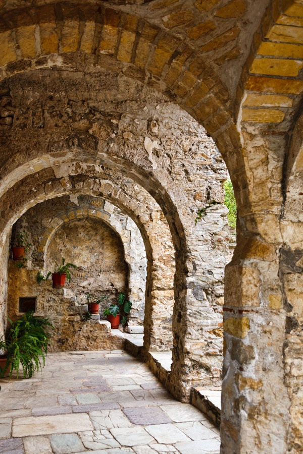 Mystras, Lakonia, Greece