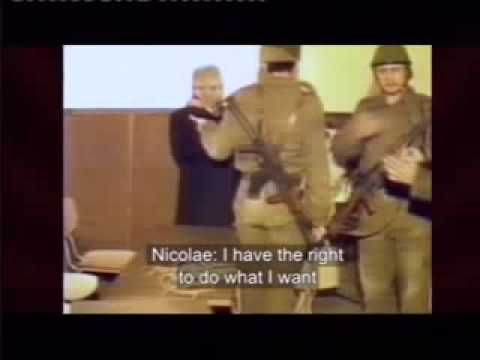 Romanian Dictator Nicolae and Elena ceausescu executed. - YouTube