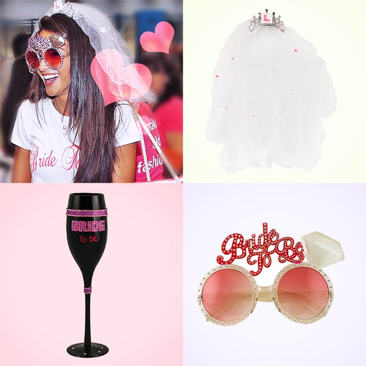 The veil, glasses and champagne flute that the lush Michelle Keegan had on her hen do - Was £18.47, now £13.49. Next day delivery available on the UK's biggest range of hen night Glasses