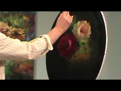 JENKING DIPINGE ROSE ELEGANTI - YouTube