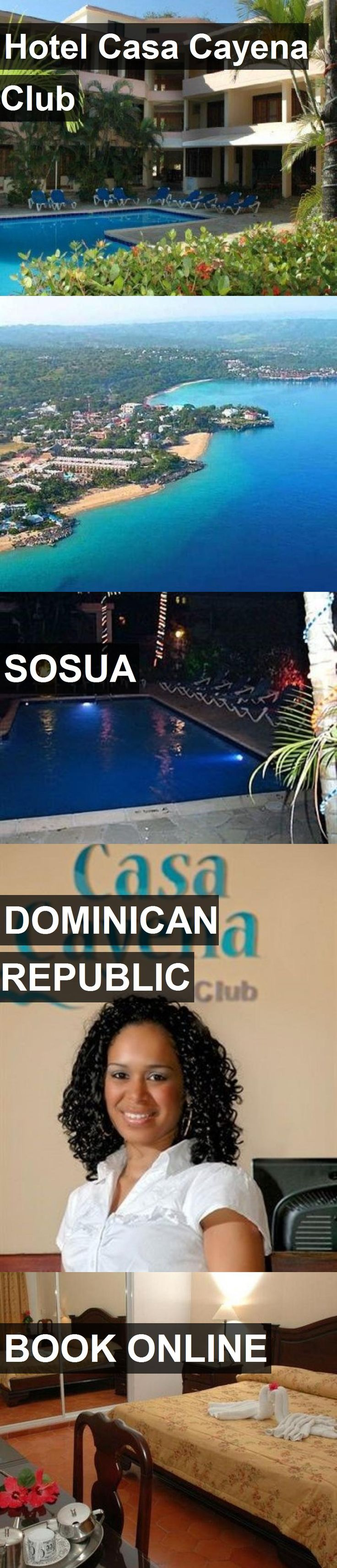 Hotel Hotel Casa Cayena Club in Sosua, Dominican Republic. For more information, photos, reviews and best prices please follow the link. #DominicanRepublic #Sosua #HotelCasaCayenaClub #hotel #travel #vacation