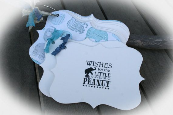 Elephant Baby Shower Little Peanut Baby shower by MerryMeDesign