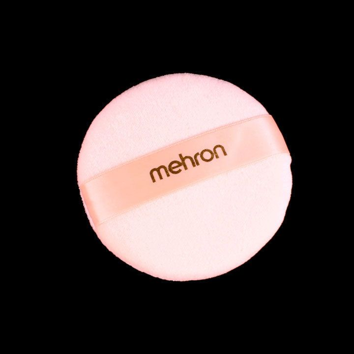 Dlx Logo Powder Puff Mehron makeup accessory theatrical face beauty fashion MUA #Mehron