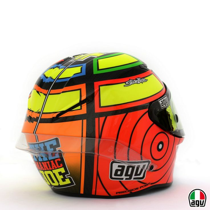 Andrea Iannone AGV Pista GP for the 2013 MotoGP season
