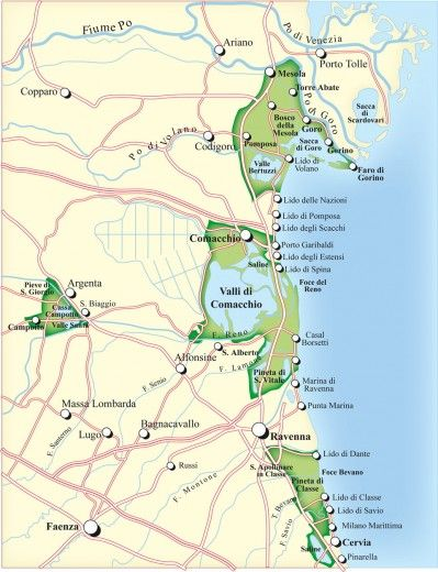 Comacchio e il Delta del Po. Un'idea settembrina | Repubblica Viaggi