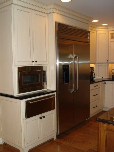 Built In Oven And Microwave Cabinet | GE Microwave Built Into Tall Unit