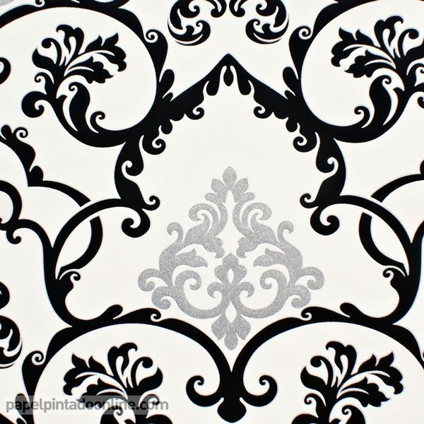 78 images about fondos on pinterest dibujo zebra print - Papel pintado blanco y plata ...