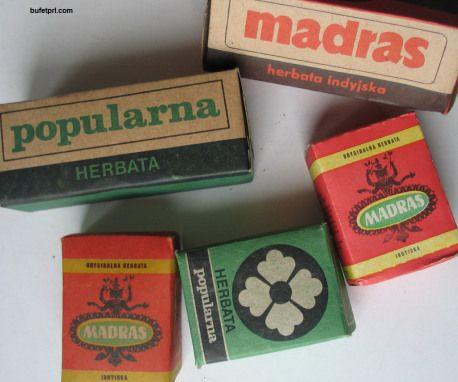 herbaty - Madras i Popularna