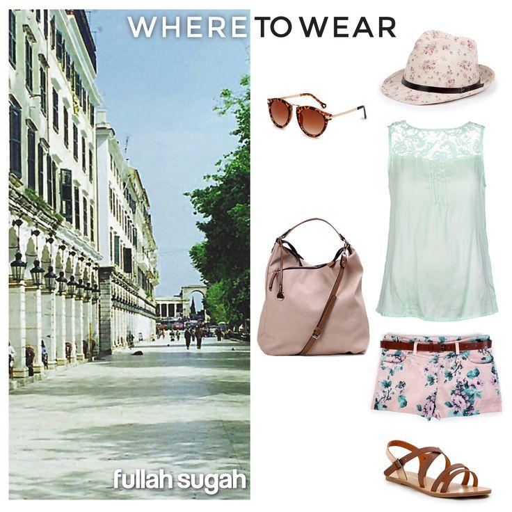 Πάμε Κέρκυρα με Στιλ Fullah Sugah! Τοπ από rayon με guipure   14171017  #fullahsugah #fullah_sugah #SS2014 #fashion #shopping #summer_mood #dress #women_fashion #summer_trends