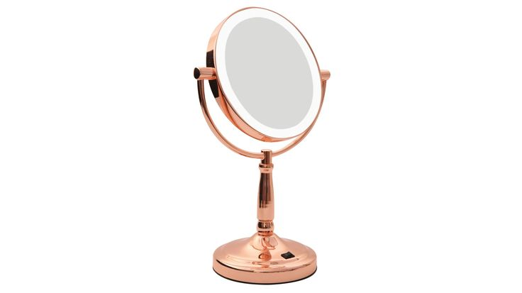 Homedics LED Vanity Mirror - Rose Gold