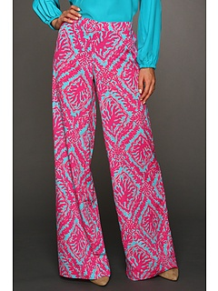 ok, i think i might be starting to warm up to the printed pants trend. esp with these lovely lilly pants!