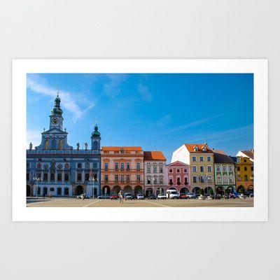 Czech Republic 2 Art Print by jacthegirl - $18.00