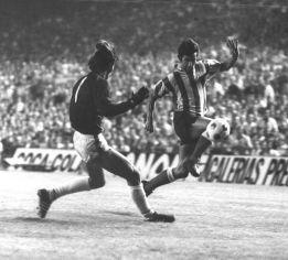 Gárate jugó dos partidos contra el Austria de Viena. El Atlético de Madrid siempre logró la victoria en el Prater