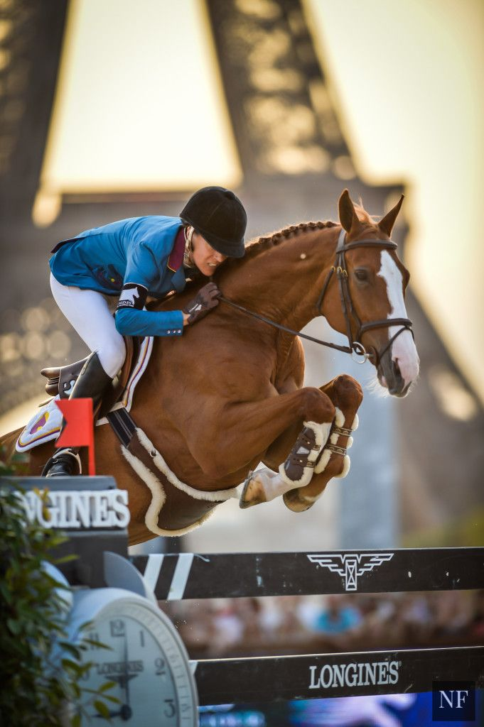Luciana Diniz and Fit for Fun - LGCT Paris 2015