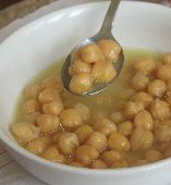 Revithosoupa - Chickpea Soup - Greek food photos