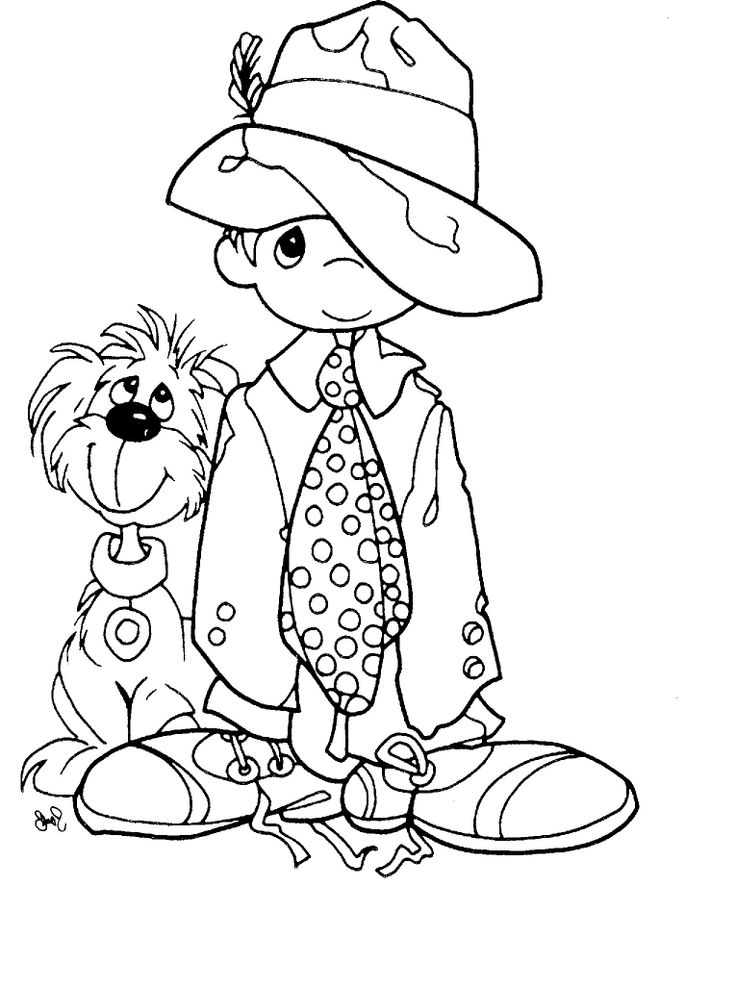 It is a picture of Irresistible Coloring Book Clip Art