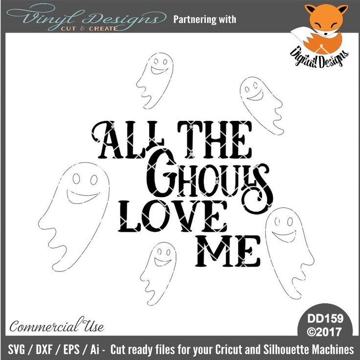 Download DD159 - All the Ghouls Love Me. Sold By Digitail ...