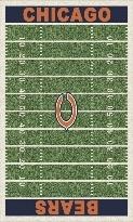 Chicago Bears NFL rug