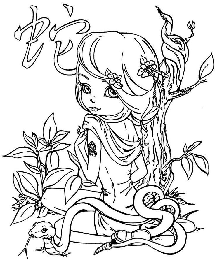 The 25+ best Snake coloring pages ideas on Pinterest | Snake ...