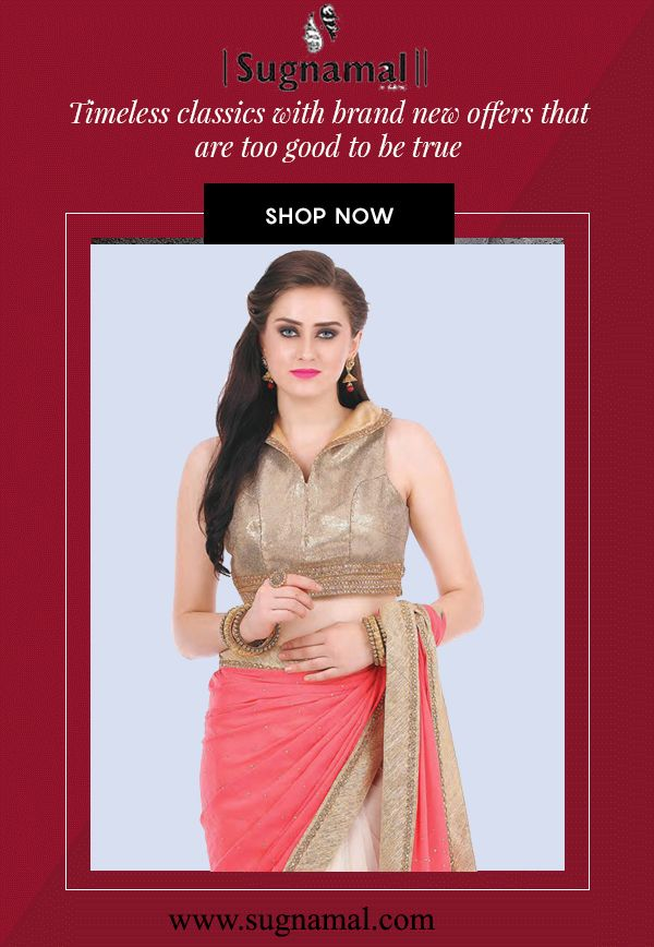 Learn the art of making an impression with our stunning saree. :) (Y) #saree #ethnic #couture #desifashion #desibride #ethnic #traditional #traditional #wedding #shaddi #party #quality #quarentee #suit #saree #gown #indowestern #attire #designer #online_shopping #shop_from_india #wedding_wear #cultural_india #indian_culture #new_arrival #sugnamal visit @http://sugnamal.com/ For any Query contact us: 8418888893