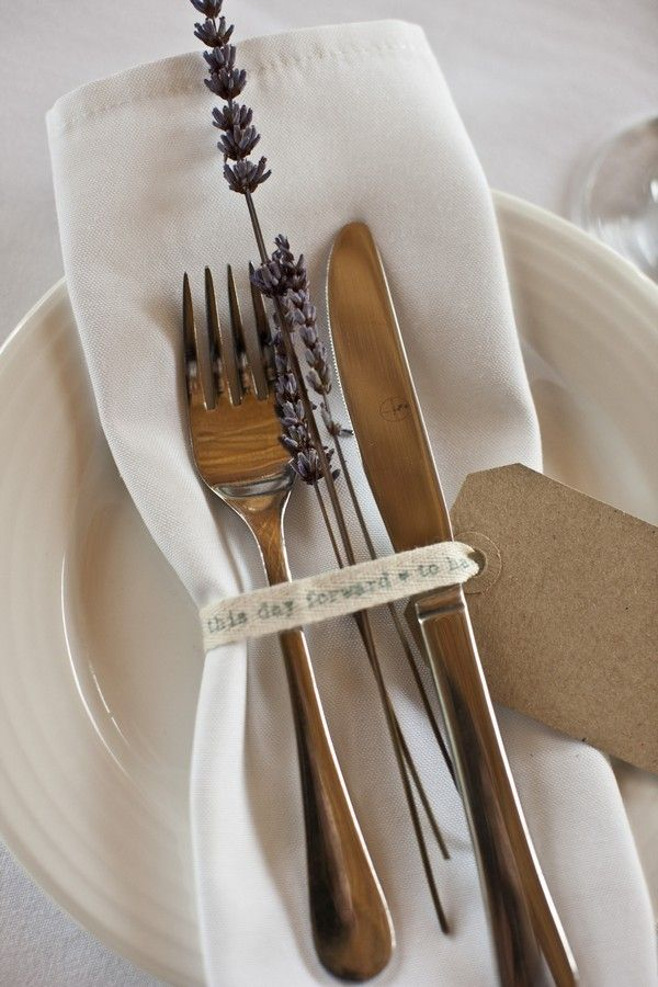 Soft Vintage Themed Ibiza Wedding - Kraft paper tags
